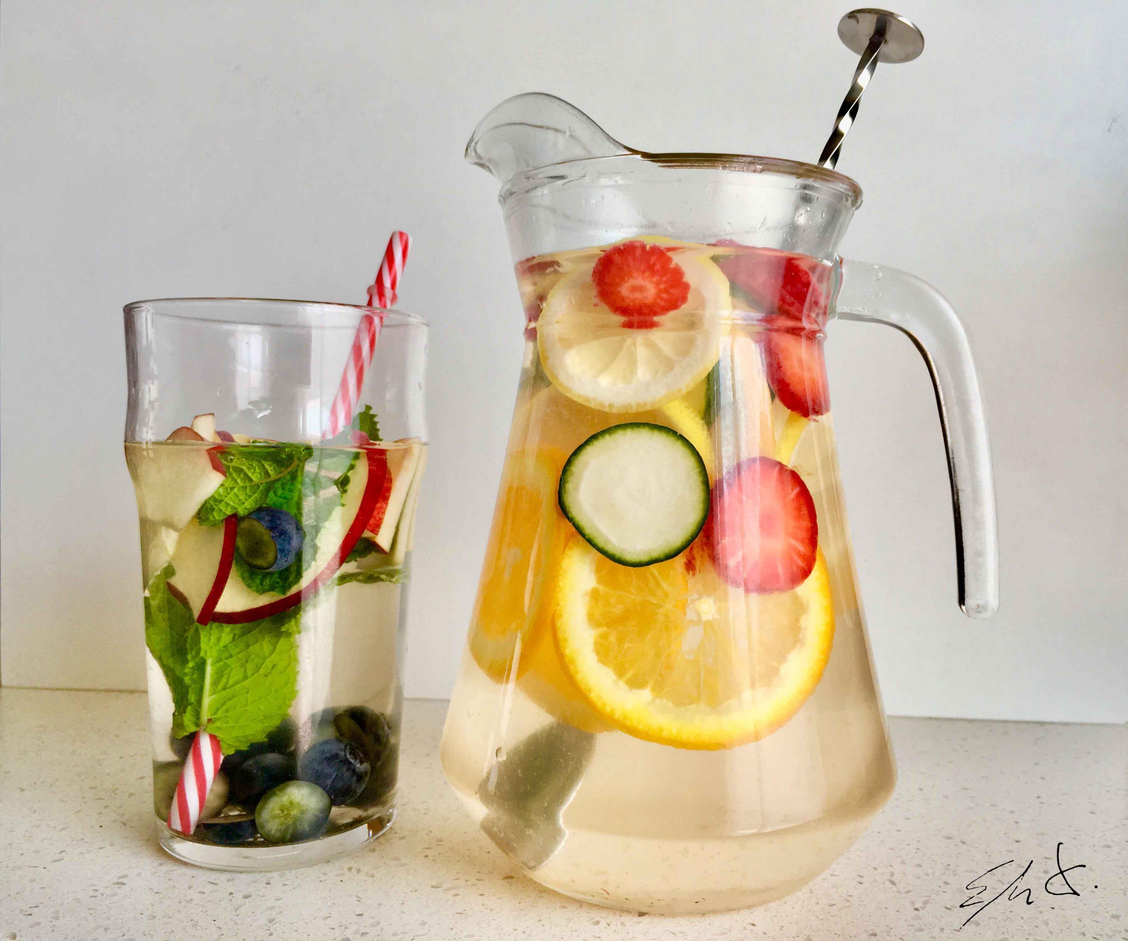 Agua de sabor 0 calorias