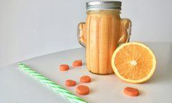Smoothy naranja antiresfriado