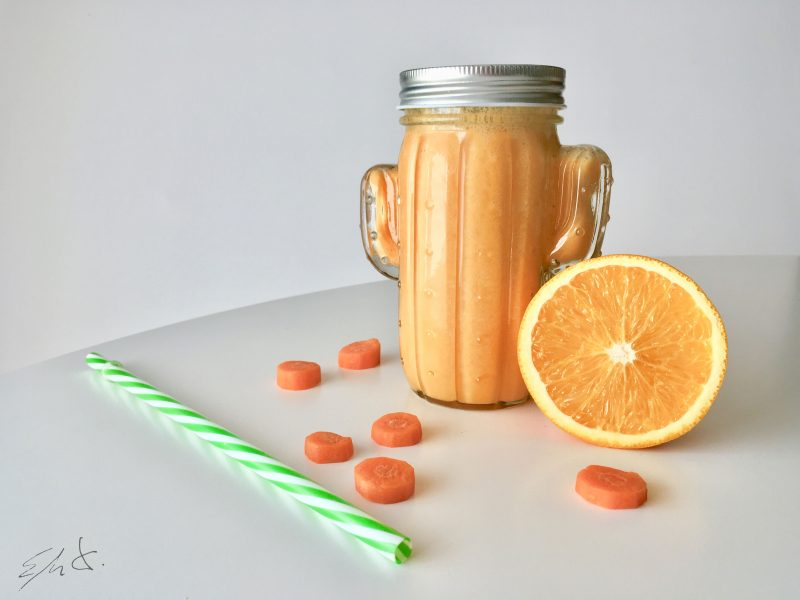 Smoothy naranja antiresfriado