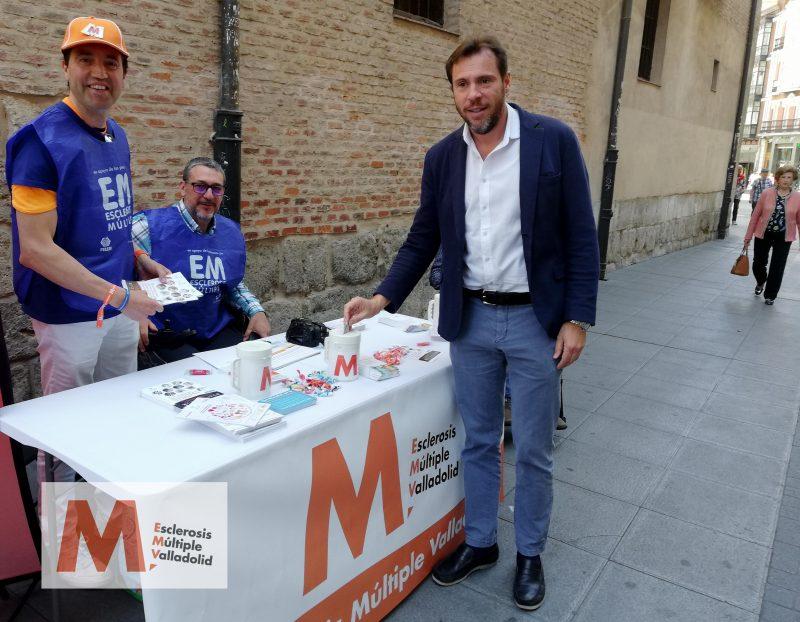 Con Óscar Puente, Alcalde de Valladolid