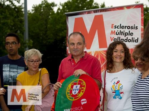 Filipe Gaivao a su paso por Valladolid