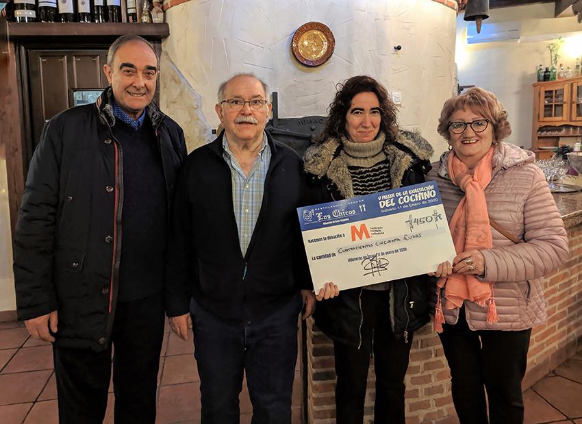 donación restaurante Los Chicos