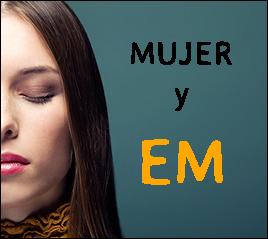 """Charla """" Mujer y EM"""". Viernes 17 a las 17 h."""
