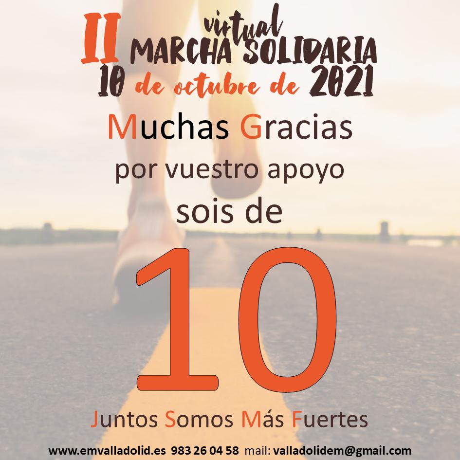 El día 10/10 damos un 10 por la Esclerosis Múltiple